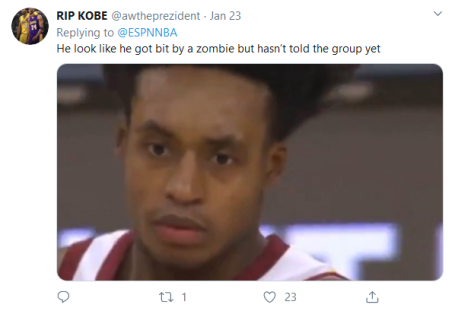 Screenshot_2020-02-05 (4) NBA on ESPN on Twitter Don't jump Collin Sexton on his head 😤 https t co k2dN3XWjqi Twitter(1)