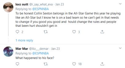 Screenshot_2020-02-05 (4) NBA on ESPN on Twitter Don't jump Collin Sexton on his head 😤 https t co k2dN3XWjqi Twitter(2)